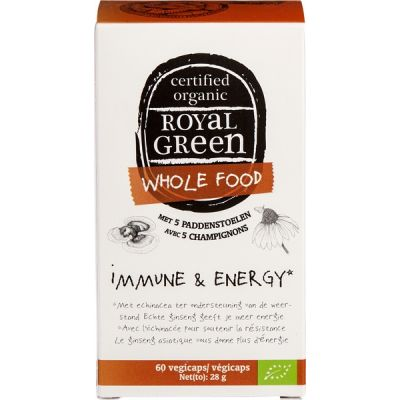 Immune & energy van Royal Green, 1 x 60 stk