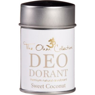 Deo Dorant Poeder Sweet Coconut van The Ohm Collection, 1 x 50 g