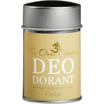 Deodorant poeder Cedar van The Ohm Collection, 1 x 50 g