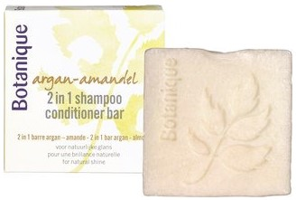 Argan + Amandel 2 in 1 shampoo/conditioner bar van Botanique, 1