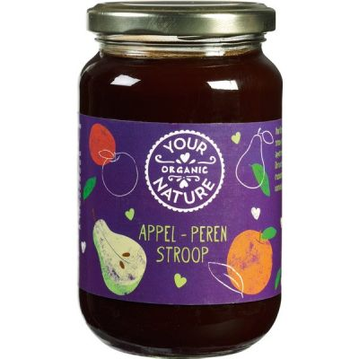 Appel-perenstroop van Your Organic Nature, 12 x 450 g