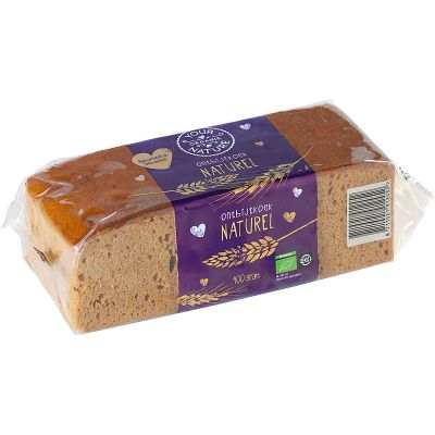 Ontbijtkoek naturel van Your Organic Nature, 8x 400g