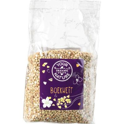 Boekweit van Your Organic Nature, 6 x 400 g