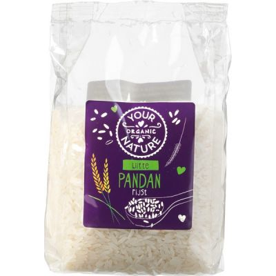 Pandanrijst wit van Your Organic Nature, 6x 400gr