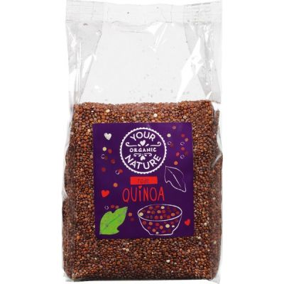 Rode quinoa van Your Organic Nature, 6 x 400 g
