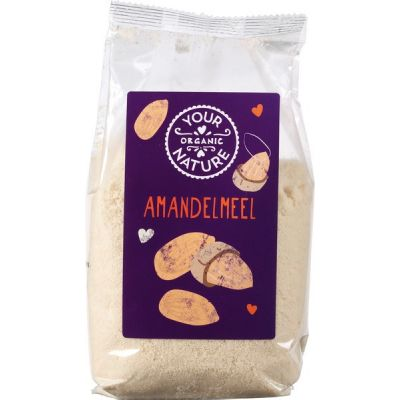 Amandelmeel van Your Organic Nature, 6 x 400 g