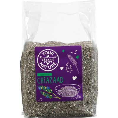 Chiazaad van Your Organic Nature, 8 x 250 g