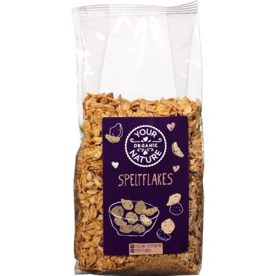 Speltflakes van Your Organic Nature, 6 x 250 g