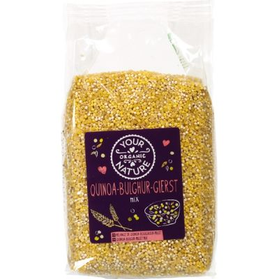 Quinoa-bulgur-gierstmix van Your Organic Nature, 6x 500 g