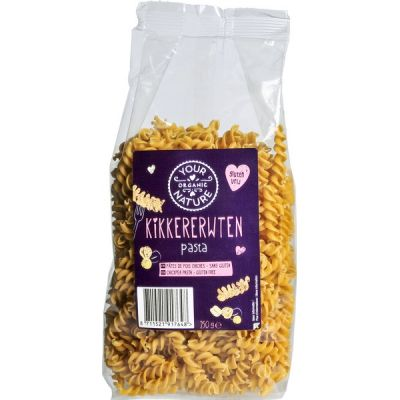 Kikkererwtenpasta van Your Organic Nature, 12x 250gr