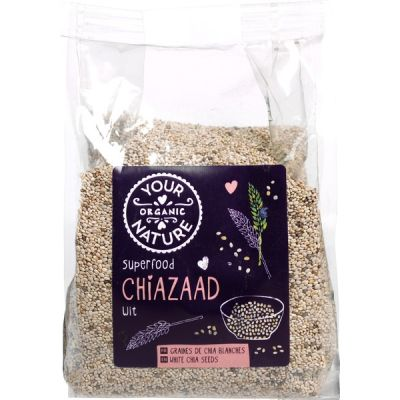 Chiazaad wit van Your Organic Nature, 8 x 250 g