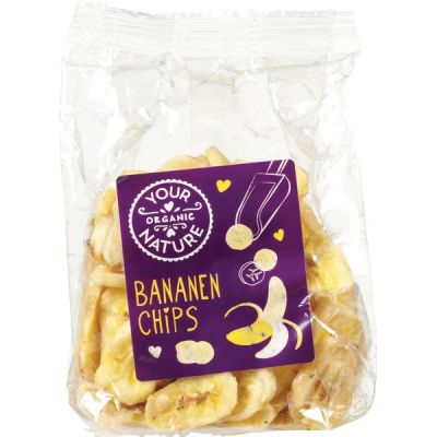 Bananenchips van Your Organic Nature, 6 x 160 g