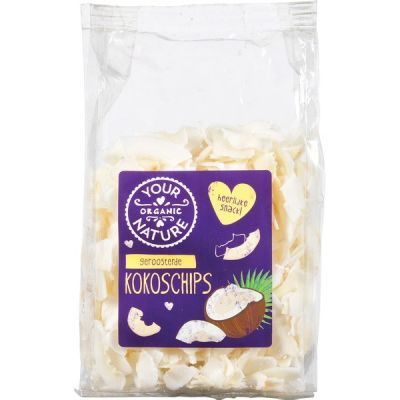 Kokoschips geroosterd van Your Organic Nature, 6 x 100 g