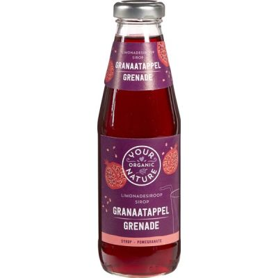 Granaatappelsiroop van Your Organic Nature, 6 x 500 ml