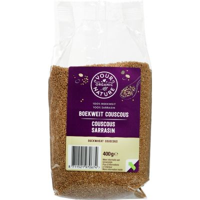 Boekweit couscous van Your Organic Nature, 12 x 400 g