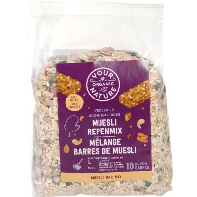 Muesli bar mix van Your Organic Nature, 6 x 500 g
