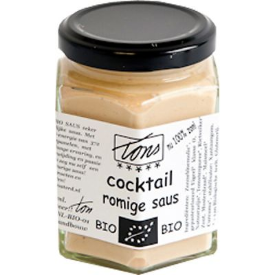 Cocktail romige saus van Tons Mosterd, 6x 170 ml