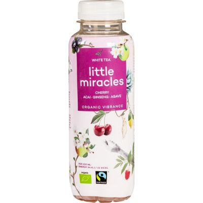 White Tea met ginseng van Little Miracles, 12 x 330 ml