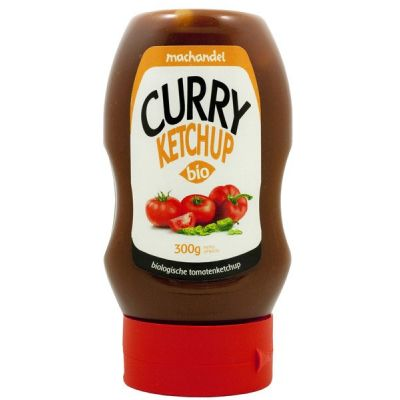 Curry-ketchup (knijpfles) van Machandel, 6x 270gr