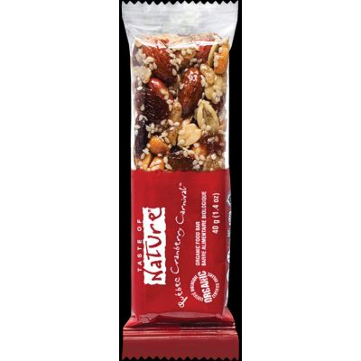 Cranberry reep van Taste of Nature, Raw Food, 16x 40gr
