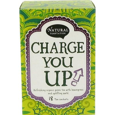 Charge you up van Natural Temptations, 5 x 18 blt