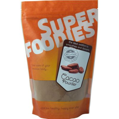 Cacaopoeder (raw) van Superfoodies, 1x 250 gr