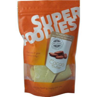 Cacaoboter (naturel) van Superfoodies, 1x 250 gr