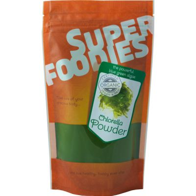 Chlorellapoeder van Superfoodies, 1x 100gram
