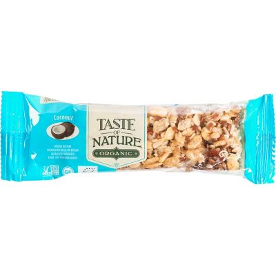 Coconut reep van Taste of Nature, Raw Food, 16x 40gr
