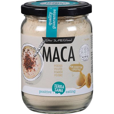 Raw maca high-energy poeder van TerraSana, 6x 300 g