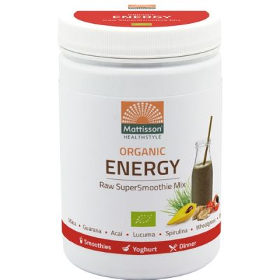 Super Smoothie Raw Energy Mix van Mattisson, 1x 300 gram.