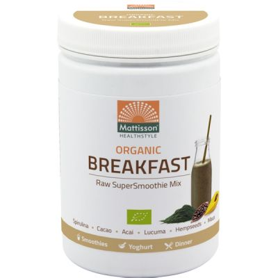 Super Smoothie Raw Breakfast Mix van Mattisson, 1x 300 gram.