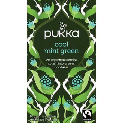 Cool Mint Green Tea van Pukka, 4x 20 stk