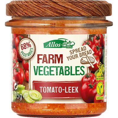Farm vegetables tomato-leek van Allos, 6x 135gr
