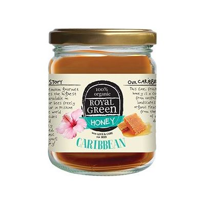 Caribbean honey van Royal Green, 6x 250gram.