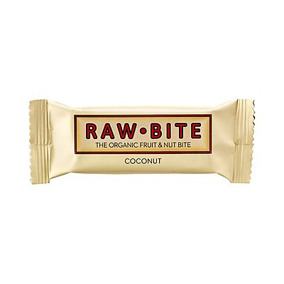 Fruit & Nut Bite Coconut repen van Rawbite, 12x 50 gram.