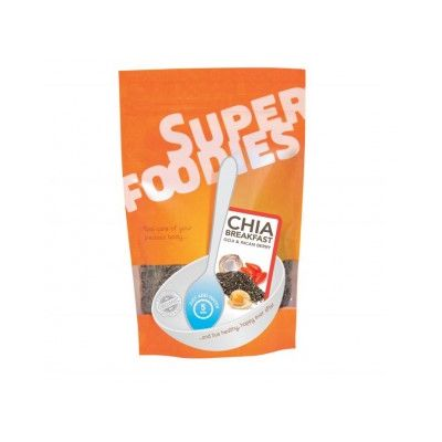 Chia breakfast goji-incan berry van Superfoodies, 1x 200 gram.