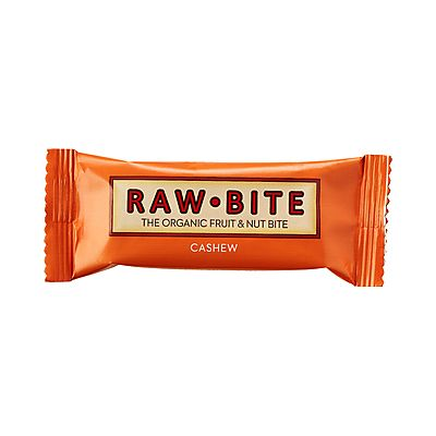 Fruit & Nut Bite Cashew repen van Rawbite, 12x 50 gram.