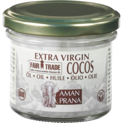 Kokosolie Extra Virgin van Amanprana, 1x 100ml