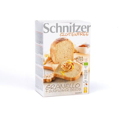 Brood Granello + sunflower seeds glutenvrij van Schnitzer, 1x 50