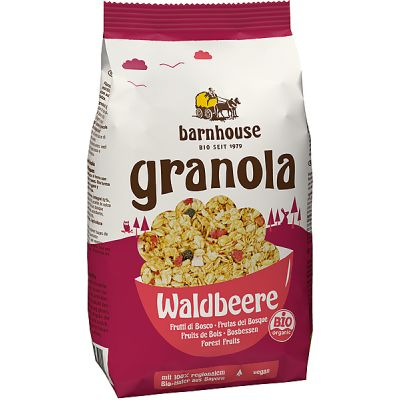 Granola forest fruits van Barnhouse, 6 x 375 gram