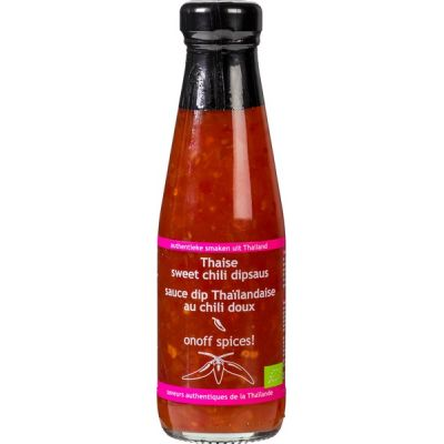 Thaise 'sweet' chili dipsaus van Onoff spices!, 12x 200ml