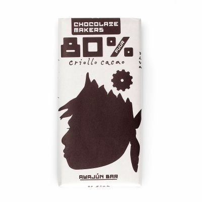 Awajún bar 80% puur van Chocolate Makers, 10x 90 g