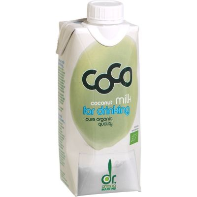 Coco milk for drinking van Dr Martins, 12 x 330 ml