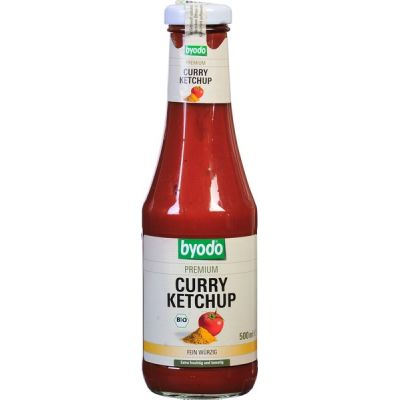 Curry ketchup van Byodo, 6x 500 ml