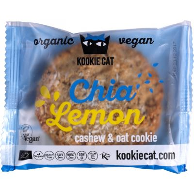 Chia-Lemon van Kookie Cat, 12x 50 g