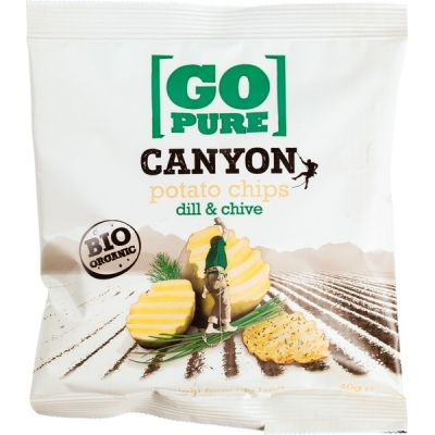 Canyon chips dill & chive van Go pure, 15 x 40 g
