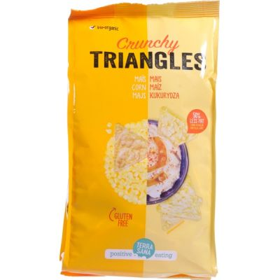 Triangles mais van TerraSana, 12 x 90 g