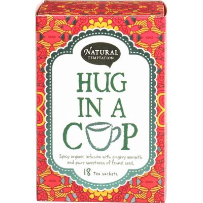 Hug in a cup van Natural Temptation, 5 x 18 stk