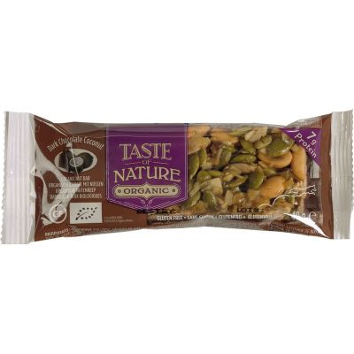 Dark Chocolate Coconut van Taste of Nature, 16 x 40 g